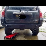 2003 - 2009 Toyota 4Runner Rear Weld Together Bumper Kit