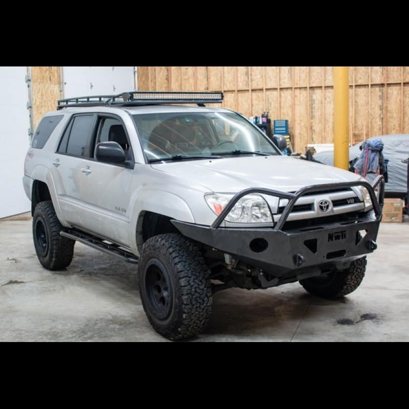 Toyota 4runner Bumper >> 2003 2009 Toyota 4runner Front And Rear Weld Together Bumper Kit