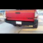 NWTI plate steel rear weld together bumper kit for 2005-2015 Toyota Tacomas