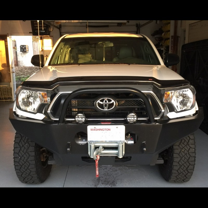 Northwest trail innovations 2012 2015 toyota tacoma weld together winch bumper kit solutioingenieria Image collections
