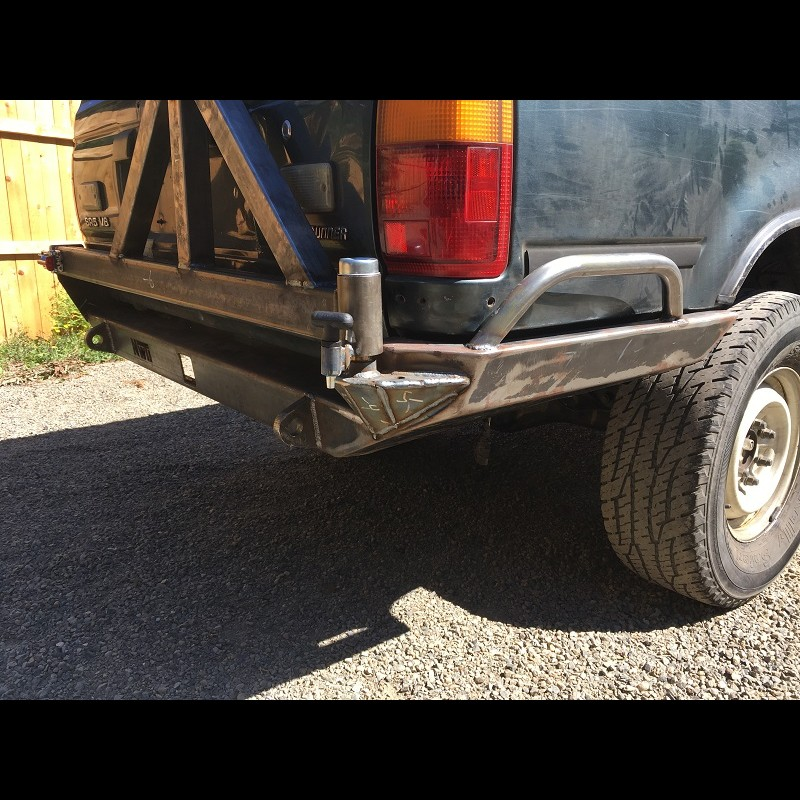 1994 Toyota Pickup Bumper >> 1990-1995 Toyota 4Runner Rear weld it yourself Bumper Kit