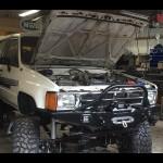 1984-1988 Toyota Pickup / 4Runner Weld Together Winch Bumper Kit