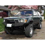 1989-1995 Toyota Pickup / 4Runner Open Top Weld Together Winch Bumper Kit