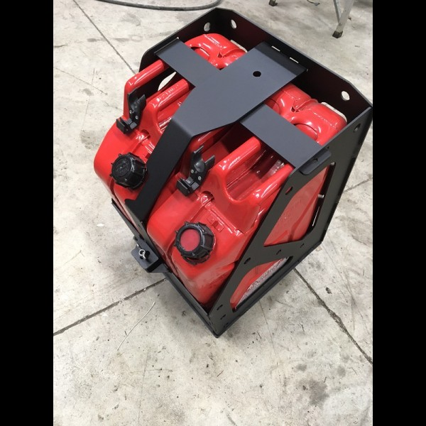 NWTI Dual Jerry Can Carrier/Scepter can DIY Weld it yourself Kit for Swingout Kits