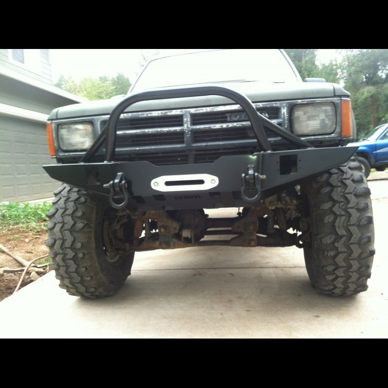 1984 1988 toyota pickup 4runner weld together winch bumper kit solutioingenieria Images