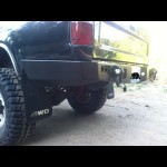 Toyota Pickup 1984-1995 Wrap around Rear Weld Together Bumper Kit