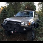 1996 - 2002 Toyota 4Runner Weld Together Winch Bumper Kit