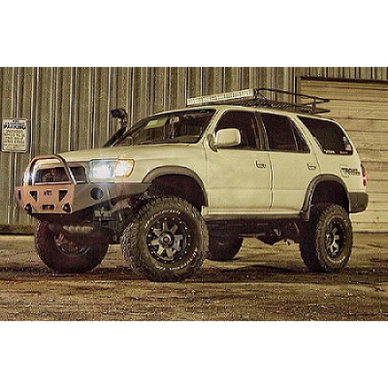 1996 2002 toyota 4runner weld together winch bumper kit 1996 2002 toyota 4runner weld together winch bumper kit