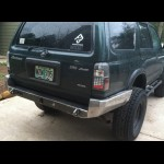 1996-2002 Toyota 4Runner weld together rear bumper kit
