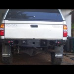 1996 - 2004 Toyota Tacoma Rear Weld Together  Bumper Kit