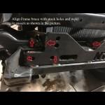 1984-1995 Toyota Frame Reinforcement Brackets
