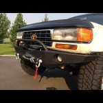 1990 - 1997 Toyota FJ80/FZJ80/LX450 Front and Rear Weld Together Bumper Combo Package
