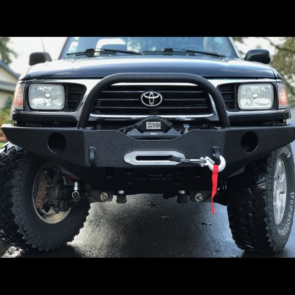 1996-2004 Toyota Tacoma Redesigned Front Open top kit and Rear Wrap around kit combo package