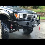 1996-2004 NEW REDESIGNED Tacoma Open Top Weld it Yourself Winch Bumper Kit