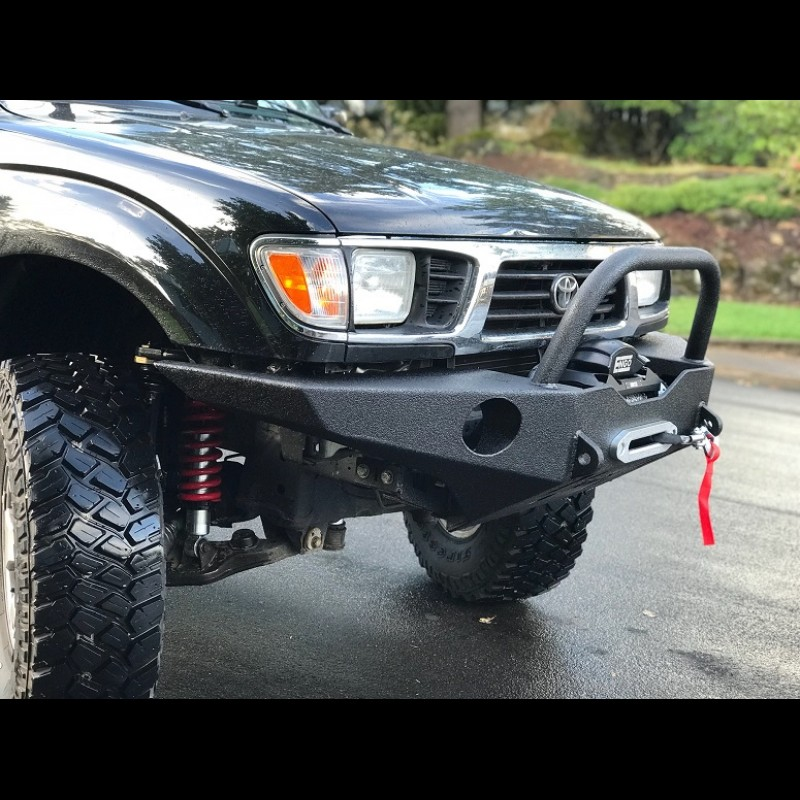 Tacoma Front Bumper >> 1996-2004 NEW REDESIGNED Tacoma Open Top Weld it Yourself Winch Bumper Kit