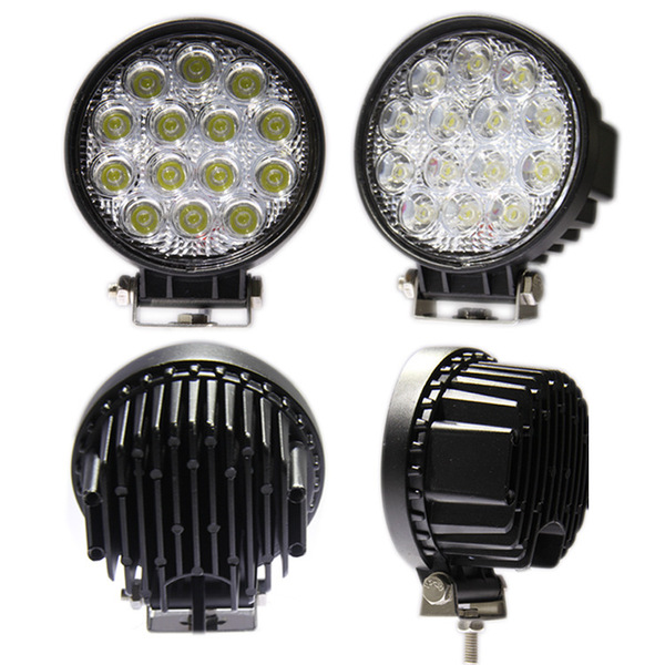 "Engo 4"" RW-Series 1 pair 42W LED lights with harness"