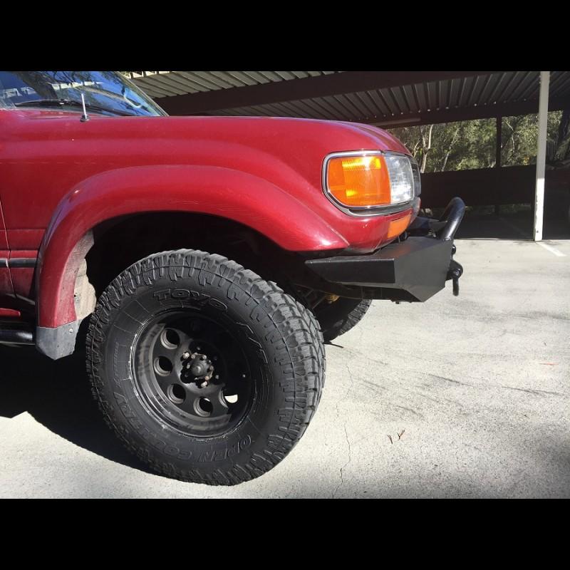 1990 - 1997 FJ80/FZJ80 winch bumper kit