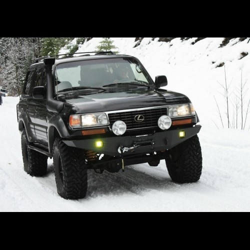 fj80 bumper front fzj80 1997 toyota winch lx450 rear 1990 kit cruiser land bumpers lexus trail road yota combo offroad