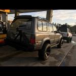 1990-1997 Toyota Land Cruiser FJ80/FZJ80/LX450 Rear Weld Together Off Road Bumper Kit