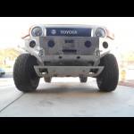 2007 - 2014 Toyota Fj Cruiser weld together winch bumper kit