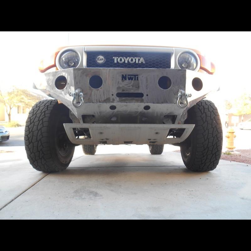 2007 2014 toyota fj cruiser weld together winch bumper kit solutioingenieria Choice Image